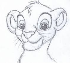 Image result for disney drawing simba