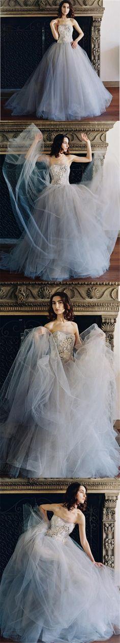 2017 Custom Sleeveless Tulle Pretty Gorgeous High Quality Best Sales Fashion Wedding Dress, 2018 Prom dress, PD0399
