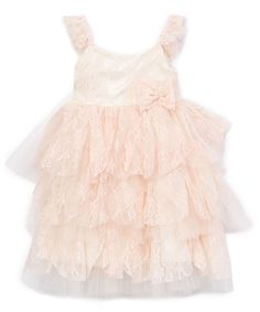 ce96f7b96948 Light Pink Ruffle Tank Dress - Infant   Toddler
