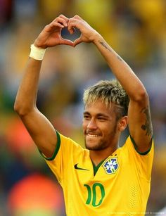 Neymar Jr. #worldcup #2014 #brazil #fifa #thebest