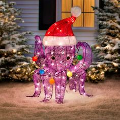 The Pre-Lit Octopus Christmas Lights is an unexpected, whimsical way to celebrate the season! When you've got 8 arms, there's no excuse for tangled holiday lig… Tropical Christmas, Beach Christmas, Coastal Christmas, Christmas Holidays, Christmas Ornaments, Christmas Ideas, Christmas Wishes, Christmas Snowman, Indoor Christmas Lights