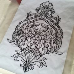 Artists have been working hard to create new tattoos and add extra awesom. Hai Tattoos, Neue Tattoos, Bild Tattoos, Body Art Tattoos, Sleeve Tattoos, Mandala Tattoo Design, Tattoo Designs, Tattoo Sketches, Tattoo Drawings