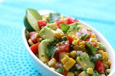 Florida Corn, Tomato and Avocado Salsa