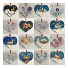 Hearts are for life, not just for Christmas ❤️ Use code JINGLE16 for free P&P on Small Business Saturday, 3 Dec, and I'll gift wrap your purchase too!