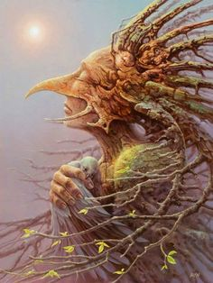 Incredible Fantasy Paintings by Artist Tomasz Alen Kopera - The Wondrous Costume Carnaval, Spirited Art, Fantasy Paintings, Fantasy Artwork, Visionary Art, Wassily Kandinsky, Surreal Art, Fantasy Creatures, Forest Creatures