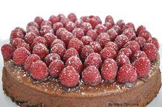 Double Chocolate Raspberry Cheesecake