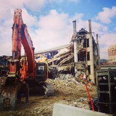 Demolition squad at Sydney Exhibition Centre Squad, Sydney, Times Square, Centre, Photography, Travel, Photograph, Viajes, Photo Shoot