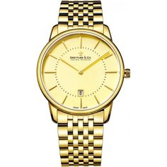 Latest Dreyfuss Mens Analogue Classic Quartz Watch with Stainless Steel Strap Gents Watches, Rolex Watches, Quartz Watch, Gold Watch, Bracelet Watch, Stainless Steel, Classic, Watch Case, Men