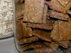 Low-Sodium Whole-Grain Crackers