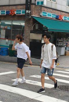 Joo Haknyeon and Moon Kevin