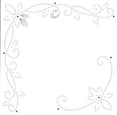 carte a broder a imprimer 123 Best Templates images | Templates, Paper embroidery