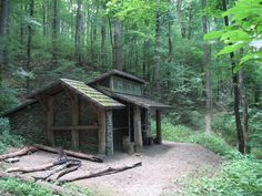 appalachian trail georgia - shelter
