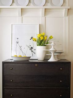 The Big Fix: Home Redecorating This would be a great substitute for a sideboard in the dining room. Storage for extra linens and seldom used dishes and cookware.