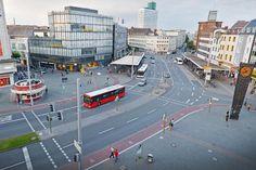 Umweltamt: Verkehr auf dem Jahnplatz muss deutlich reduziert werden +++ Bielefeld bekommt Umweltzone