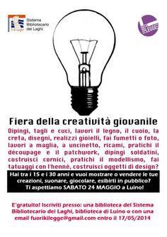 #FuoriChiLegge - #Luino FIERA DELLA CREATIVITA' GIOVANILE