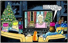 2014-01-06 express British Royals, Cartoons, Royalty, Queen, History, Funny, Pink, Royals, Cartoon