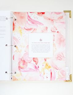 Wedding planner notebook and journal bridezilla wedding planners the joyful wedding planner solutioingenieria Choice Image