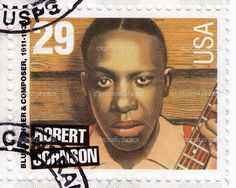US Stamp 1994 - Blues Singer and Composer  Robert Johnson