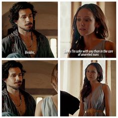 The Musketeers - 1x09 - Knight Takes Queen, except those nuns are armed to the teeth...