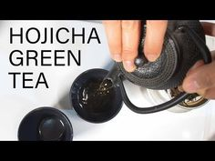 The perfect cup of Hojicha Roasted Green Tea - Sandy La Pastelera Best Green Tea, Perfect Cup, Sun Dried, Latte, Tea Pots, Roast, Party Time, Youtube, Recipes