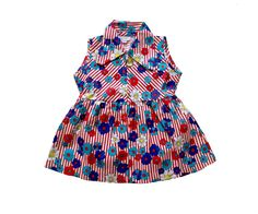 VINTAGE 60/70's / enfant / robe / motifs par Prettytidyvintage, €27.50