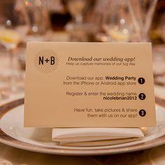 Wedding iPhone app idea