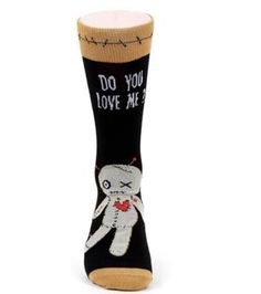 Life Is Too Short To Wear Boring Socks! Halloween Socks, Voodoo Dolls, Crazy Socks, Novelty Socks, Brand New, Fall, Collection, Horror, Size 10