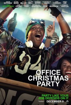 OFFICE CHRISTMAS PARTY movie poster No.11 | Movie Posters ...