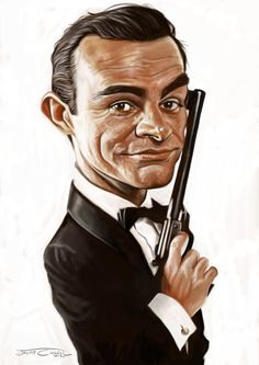 JAMES BOND (SEAN CONNERY) by JaumeCullell.deviantart.com on @deviantART