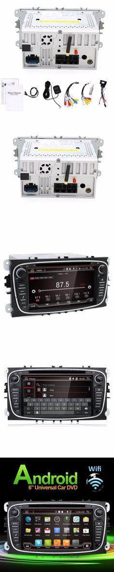 2 Din Android 6.0 Car dvd gps player car stereo radio for Ford Mondeo Focus built in GPS CAMERA PARKING +Wifi+Bluetooth+USB+SD