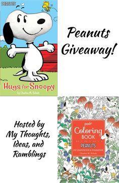 Peanuts Coloring Book + Kid's Book #Giveaway! #PeanutsAmbassador #Snoopy #Peanuts