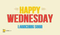 Happy Wednesday: A Mid-Week Happiness Offers Program! commencing from next Wednesday