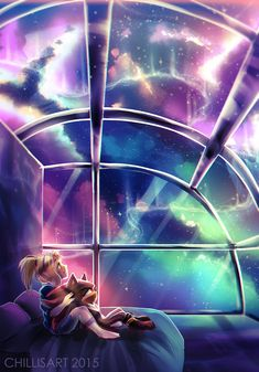 stargazing // + video by chillis-art on DeviantArt