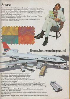 British Airways Tristar brochure from 1974 #travel #alookat #airlines