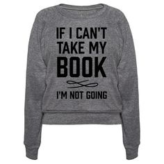 Well yeah no duh I wouldn't go anywhere without a book