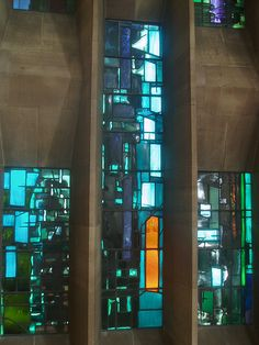 Baptistry Window Panels, Coventry Cathedral