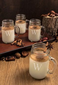 personalized glass drinking jars http://rstyle.me/n/umisapdpe
