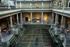 Who's Pulled The Plug On The Roman Baths?