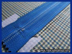 Молния без шва. Zipper Tutorial, Patterns, Dressmaking, Blouse, Block Prints, Pattern, Models, Templates