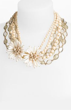 kate spade new york 'moonlight pearls' necklace @Nordstrom #WeddingSuite #Nordstrom
