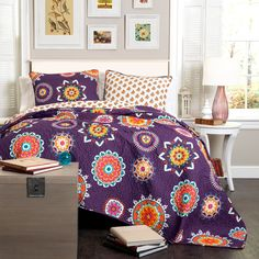 Have to have it. Lush Decor Adrianne Quilt Set - $113.98 @hayneedle