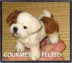 Custom Pet Portrait / Your Pet in Miniature / by GourmetFelted