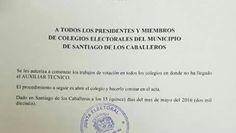 Armario de Noticias: JCE autoriza trabajo en colegios de Santiago donde...