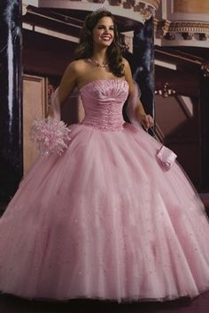 ... Events Wedding Dresses Beaded Pink Fairytale Ball Gown Bridal Gowns