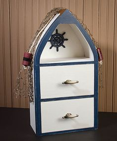 Look at this Nautical Boat Cabinet on #zulily today!