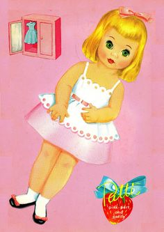 Paper Dolls~Hello Patti - Bonnie Jones - Álbumes web de Picasa
