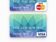 Best Cards Images On Pinterest Member Card Credit Card Design - Blank visa credit card template