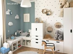 Toddler And Baby Room, Baby Room Boy, Baby Bedroom, Girl Room, Kids Bedroom, Cool Kids Rooms, Baby Room Design, Nursery Room Decor, Man Room