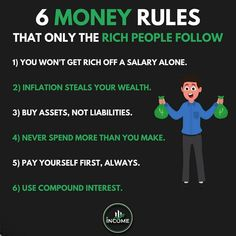 I highly recommend you to follow @income who's sharing one of the best content and real knowledge about business, finance and money! 💯 • Follow @income for more 🔥 Follow @income for more 🔥 Follow @income for more 🔥 Make Money From Home, How To Make Money, Pay Yourself First, Learn Earn, Rich People, Entrepreneur Quotes, How To Get Rich, Wealth, Finance