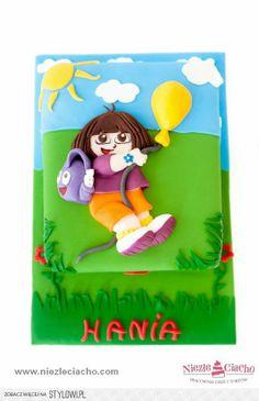 Dora, Dora poznaje świat, tort urodzinowy, tort na urodziny, torty dla dzieci